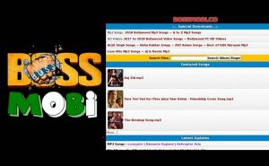 Bossmobi - Download Bollywood A to Z Mp3 Songs | www.bossmobi.com