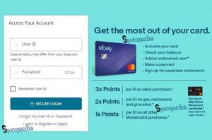 eBay Mastercard Login, Review and Payment