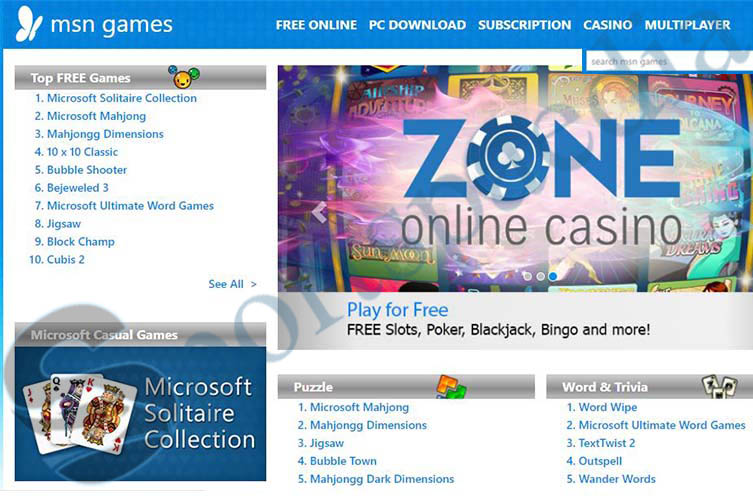 MSN Games - Download and Play Free Microsoft Online Games | www.msn.com