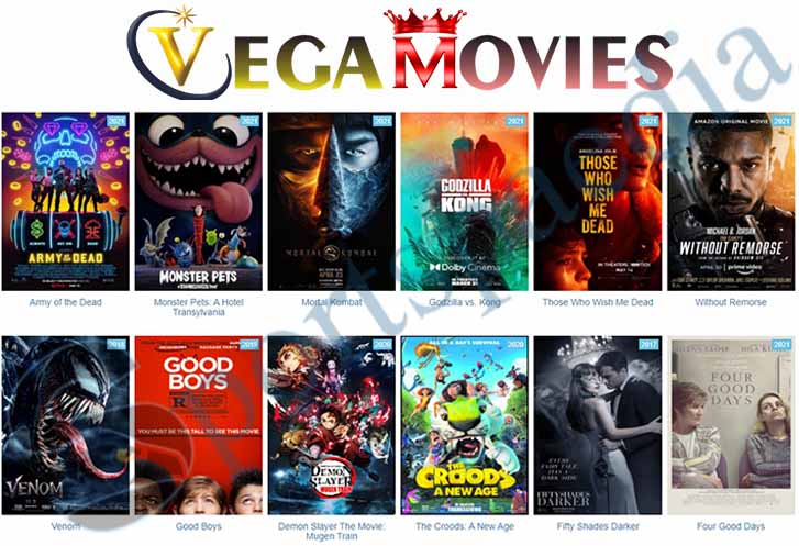 Vegamovies - illegal Movies and Tv Series Download Website