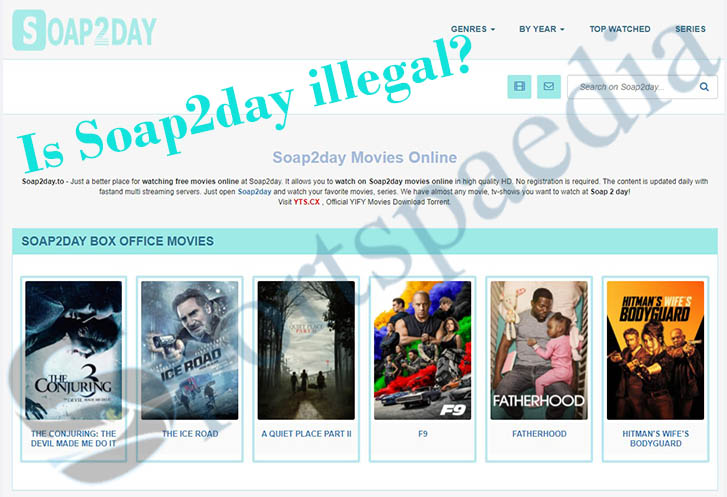 Is Soap2day illegal to Watch & Download Movies and Tv Series On?